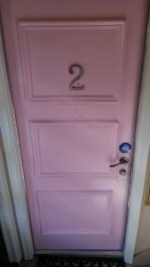 door after PINK
